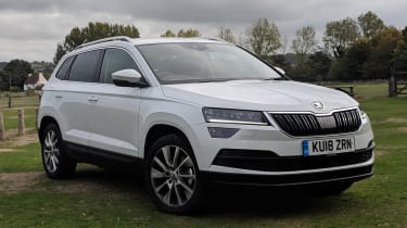 Skoda karoq long termer static