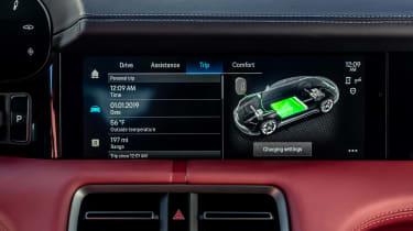 Porsche Taycan 4S - infotainment