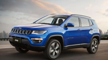 Jeep Compass 2017 - front tracking