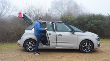Citroen C4 Picasso long termer second report - Sean Carson back door