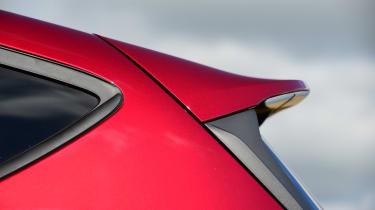 Ford Fiesta - spoiler