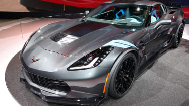 Corvette Grand Sport - Geneva 2016 - front three quarters