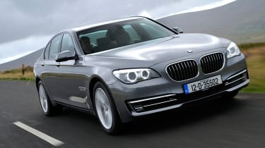BMW 730d front action