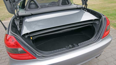 Used Mercedes SLK - boot