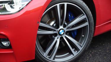 BMW 340i - wheel