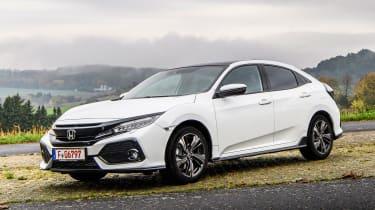 Honda Civic 2016 prototype - front quarter