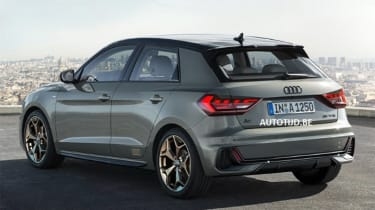 Audi A1 - leak grey rear