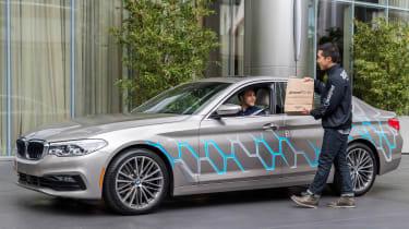 BMW 5 Series Personal CoPilot autonomous prototype delivery