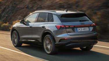 Audi Q4 e-tron - rear action