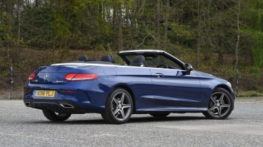 Mercedes C-Class Cabriolet - rear static
