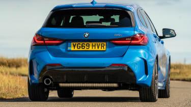 BMW 1 Series - rear cornering
