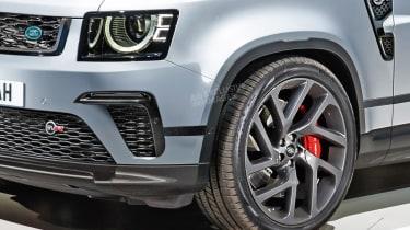 Land Rover Defender SVR - front detail