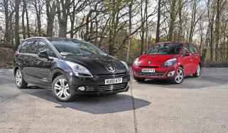 Peugeot 5008 vs. Grand Scenic