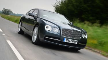 The Flying Spur mixes sublime luxury with tyre-shredding performance.