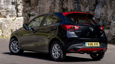 Mazda 2 Red Edition - rear quarter