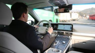 Hyundai NEXO cabin