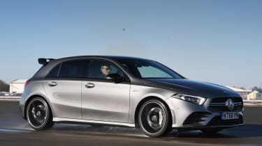 Mercedes-AMG A 35 tracking front