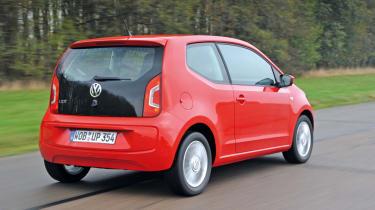 Volkswagen up! rear tracking