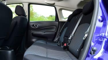 Nissan Note - rear seats