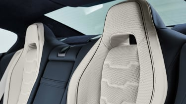 BMW 8 Series Gran Coupe - seat detail