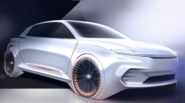 Chrysler Airflow Vision Concept - front sketch