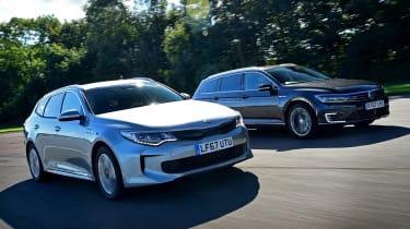 Kia Optima PHEV vs Volkswagen Passat GTE