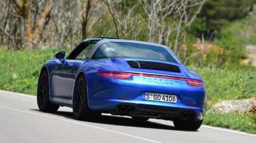 Porsche 911 Targa GTS rear
