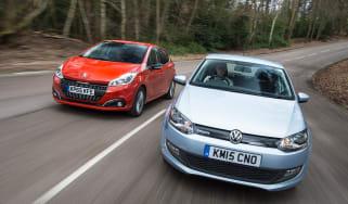 Volkswagen Polo vs Peugeot 208 - header