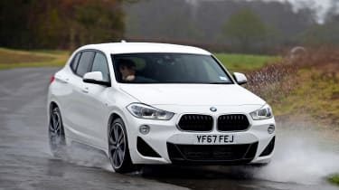 BMW X2 - front action