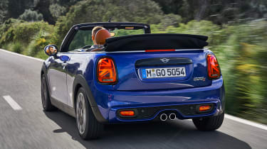 MINI Convertible - rear