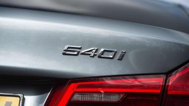 BMW 5 Series 2017 - 540i badge