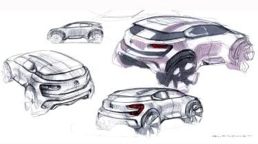 Citroen Aircross concept - sketches