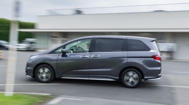Honda i-MMD hybrid prototype - side