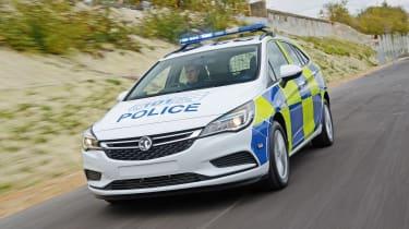 Building a police car - police car