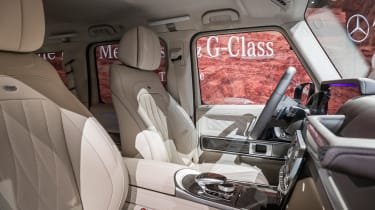New Mercedes G-Class revealed - front seats