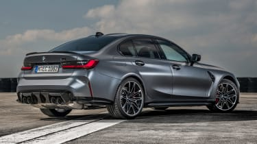 BMW M3 Competition xDrive - rear static