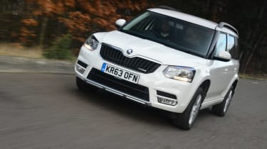 Skoda Yeti Greenline 2014 Review Auto Express