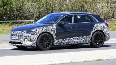 Audi e-tron S - spyshot 10