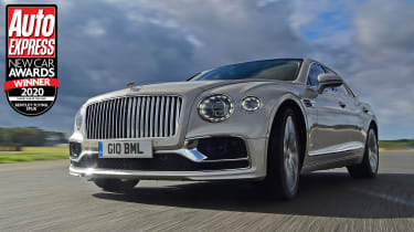 The Bentley Flying Spur luxury saloon combines breathtaking performance with majestic luxury and refinement.