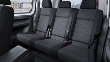 Volkswagen Caddy Life - rear seats
