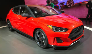 New Hyundai Veloster - Detroit front