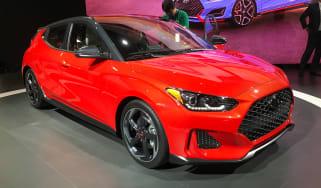 New Hyundai Veloster - Detroit front