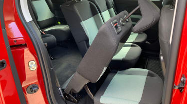 Citroen Berlingo XL Flair long termer - seats