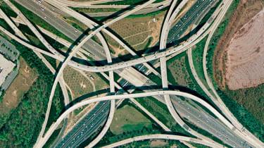 Tom Moreland Interchange, Atlanta, Georgia, US