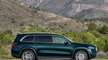Mercedes GLS - green side static