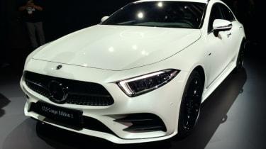 Mercedes CLS LA show pic