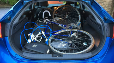 Hyundai Ioniq Plug-in long term - bike