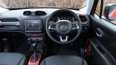 Jeep Renegade - dash