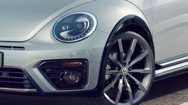 New Volkswagen Beetle R Line detail