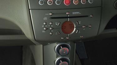 Proton Gen-2 hatchback interior detail